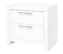 Vercelli Modern Side Table in White