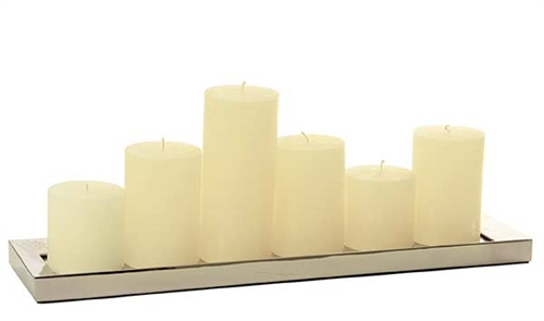 Reflections Rectangular Candle Holder
