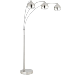 A stylish and attractive lamp set, each piece with a dimmer