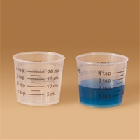 18289 AccuCup, 20mL medicine measuring cup