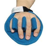 AliMed Ventopedic Premium Palm Protector with Finger Separators and Cylinder Roll, Left