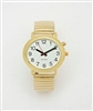LS&S 101086-M One Button Watch with Gold Band