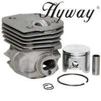 GX Cylinder Kit 45mm for Husqvarna 350, 351, 353 Replaces 537-25-31-02