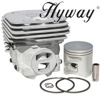 Pop-Up GX Cylinder Kit 50mm for Husqvarna 372 X-Torq Replaces 575-25-57-02
