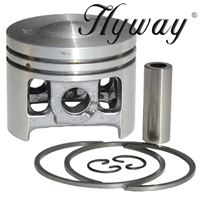 Piston Kit 46mm, Av, Super for Stihl 028 Replaces 1118-030-2003