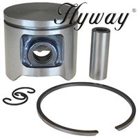 Piston Kit 40mm for Husqvarna 40, 240R, Jonsered 2041 Replaces 503-48-90-01