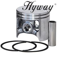 Piston Kit 60mm for Husqvarna 3120, 3120XP, 3120K, Partner K1250 Replaces 501-89-41-03