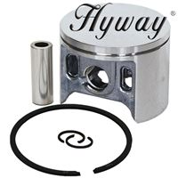 Piston Kit 47mm for Makita Dolmar PC 6412, 6414, 6430, 6435 cut off saws, 6300, Makita DPC 6200, 6201, 6400, 6401, 6410, 6411, Wacker BTS 930, 93 Replaces 325-132-032