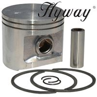 Piston Kit 52mm for Husqvarna 372 Replaces 503-93-92-71