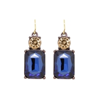 Navy Earrings - LTE08A