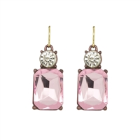 Pink Gem Earrings - LTE08I
