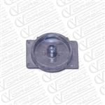 turbocat brushroll end cap central vacuum
