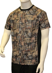 Oilfield Camo Moisture Tee $15.99 In Stock style no. GA1-125-SSTS