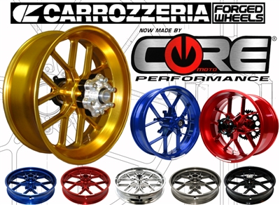 Carrozzeria VTrack Forged Wheels Ducati Streetfighter All Years
