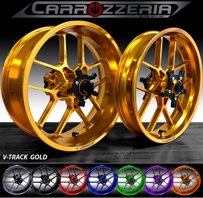 Carrozzeria VTrack Forged Wheels Kawasaki ZX6R 636 2005-2017