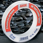 ANDE FLUOROCARBON LEADER MATERIAL 50LB TEST- 1LB SPOOL