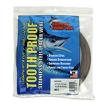 AMERICAN FISHING  WIRE TOURNAMENT PRO GRADE TOOTH PROOF WIRE - #2  BRITE