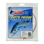 AMERICAN FISHING  WIRE TOURNAMENT PRO GRADE TOOTH PROOF WIRE - #4  BRITE