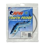 AMERICAN FISHING  WIRE TOURNAMENT PRO GRADE TOOTH PROOF WIRE - #7  BRITE