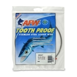AMERICAN FISHING  WIRE TOURNAMENT PRO GRADE TOOTH PROOF WIRE - #8  BRITE