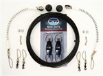 RUPP SINGLE HALYARD RIGGER KIT- NOK OUT CLIP (SINGLE  KIT= 2 RIGGERS)