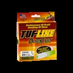 TUF LINE DURA CAST BRAID - 6LB TEST 125 YARD SPOOL