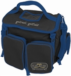 Black with blue trim Tackle Bag organizer