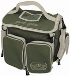 Black with green trim Tackle Bag organizer GRGF-TB-3GRN