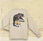 BLACK BEAR - AL AGNEW COLLECTION FISHING LONG SLEEVE T SHIRT