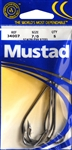 Mustad 3407DT O'Shaughnessy Classic J Hooks #1