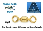 ROSCO #830 BRASS SWIVEL 6/0