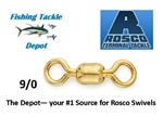 Rosco Brass Swivels 830 - 9/0 1000 lb. test