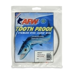 AMERICAN FISHING  WIRE TOURNAMENT PRO GRADE TOOTH PROOF WIRE - #10  BRITE