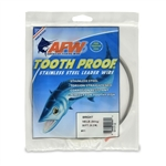 AMERICAN FISHING  WIRE TOURNAMENT PRO GRADE TOOTH PROOF WIRE - #11  BRITE