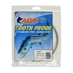 AMERICAN FISHING  WIRE TOURNAMENT PRO GRADE TOOTH PROOF WIRE - #12  BRITE