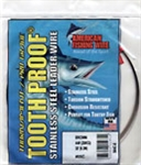 AMERICAN FISHING  WIRE TOURNAMENT PRO GRADE TOOTH PROOF WIRE - #18  BRITE