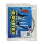 AMERICAN FISHING  WIRE TOURNAMENT PRO GRADE TOOTH PROOF WIRE - #19  BRITE