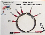 TFP DEEP DROP MAINLINE CABLE RIG - SIX SWIVEL DROPS (LIGHT WEIGHT)
