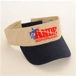 Ande Monofilament Logo fishing visor