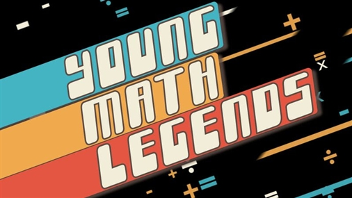 YOUNG MATH LEGENDS - 3 Pack