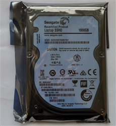 "Seagate ST1000LM014 1TB 5400RPM 2.5"" Laptop SSHD (Solid State Hybrid Hard Drive)"