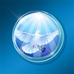 Laptop/Technology Shields: Wings of Peace