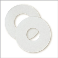 "Flat Washer 1/4"" x 3/4"" (Nylon)"