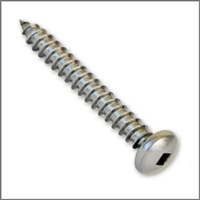 Button Head Lag Screw (316 Stainless)