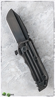 Jake Hoback Knives Alphahunter Black Stallion WarHorse