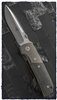 Vintage Microtech Terzoula D/A White Carbon Fiber Satin Finish APOCALYPTIC Blade