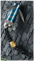 Titaner Titanium Pocket Grappling Hook Flame Ano w/ Bead