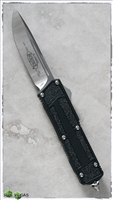 Microtech QD Scarab S/E 178-4 Satin Blade Black Handle