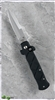 Frank B Tactical Coil Fired Auto Black Handle Silver Blade