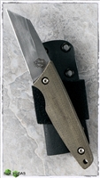 John Gray Custom Wharncliffe Canvas Micarta